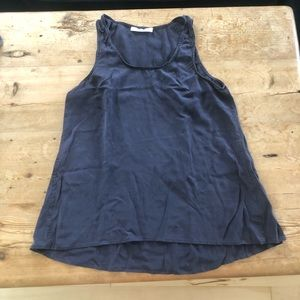 Versatile navy tank top from Everlane!  Size small